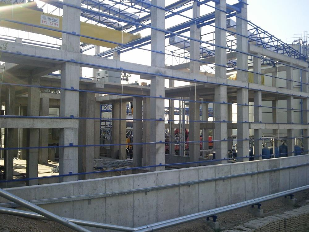 Mosb energy steam turbine building and water treatment for Builders to build a house